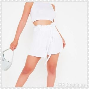 NWT Paperbag Shorts